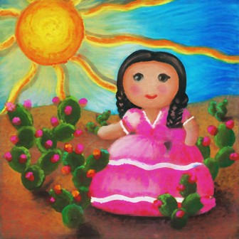 Rustic Doll by