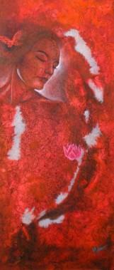 Mujer en rojo by