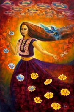Tu retorno de colibrí by Manuel Molina