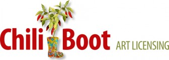 Chili Boot Art Licensing logo