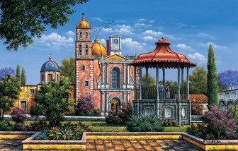 church-and-gardens-with-bandstand by