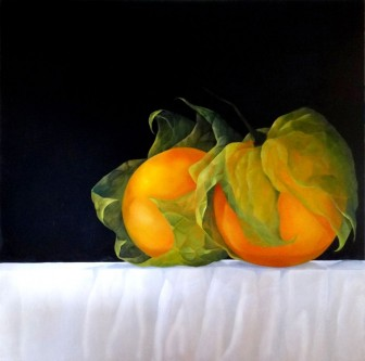 still-life-uchuvas-gooseberry-tropical-fruit by Mary Cielo Sierra