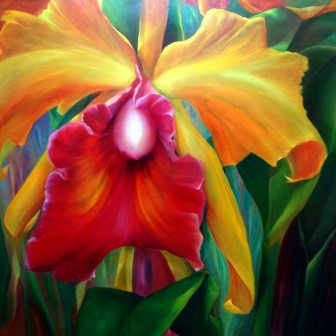 orchid-flower by Mary Cielo Sierra