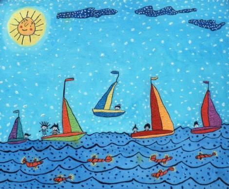 sailing-on-the-sea