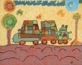 truck-and-trailer by María del Carmen Ramírez