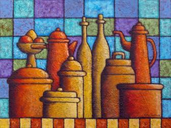 bottles-jugs-pots-pans by Víctor Peralta
