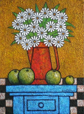 apples-vase-flowers by