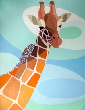 Giraffe by Alejandro Carosella