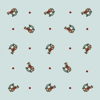 Rocking Horse Pattern by Carmen Prieto