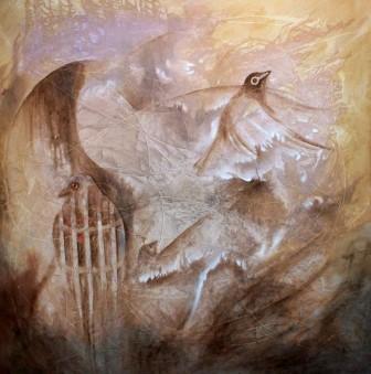 Molina bird painting