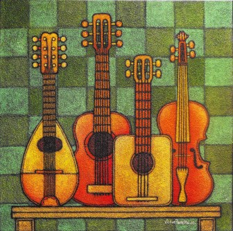 musical-stringed-instruments by Víctor Peralta
