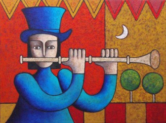 flute-player by
