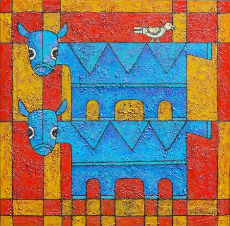 blue-cows-and-bird