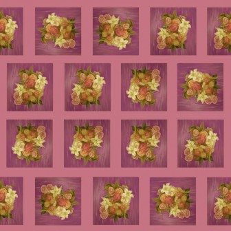 Bouquet of Lilacs Pattern by